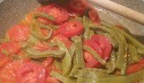 Nopalitos aglio e pomodoro
