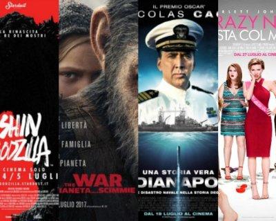 I migliori film in uscita a luglio 2017