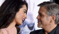 Prima vacanza per i gemelli Clooney