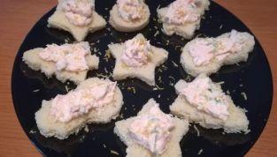 Mousse di salmone per crostini o tartine