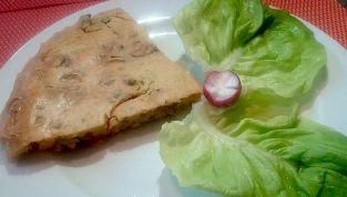Frittata di ceci: un piatto semplice ma saporito
