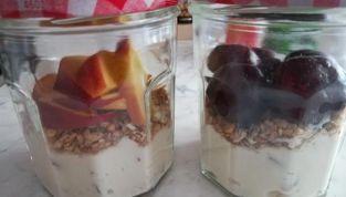 Crema di ricotta con frutta, una fresca sorpresa