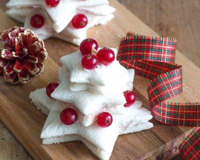 Antipasti Di Natale.Alberelli Natalizi Di Tramezzini