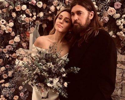 Fiori di campo per il bouquet da sposa di Miley Cyrus
