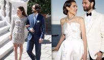 Per le sue nozze Charlotte Casiraghi sceglie YSL e Chanel