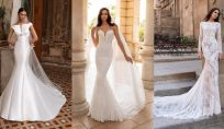 Abiti da sposa a sirena: a chi stanno bene e modelli più belli