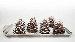 Le pigne di cioccolato, dolcetti natalizi facili e veloci