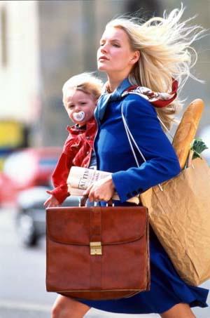 Mamma che lavora