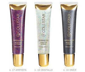 Supergloss effetto strass linea Couture di Collistar