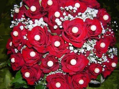 Bouquet sposa con decorazioni