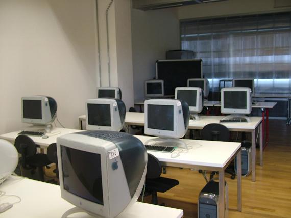 Aula computer a scuola
