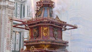 Tradizioni di Pasqua: Lo scoppio del carro a Firenze