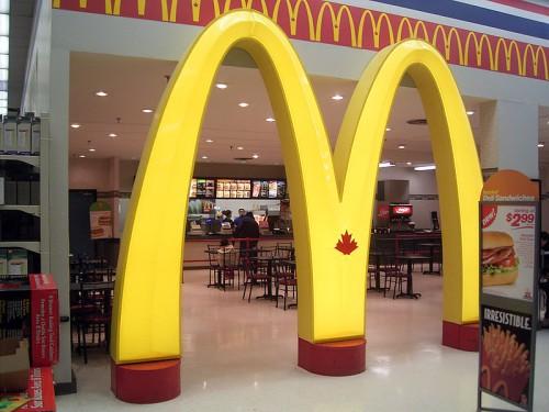 Ingresso McDonald's Canada