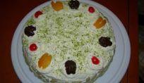 Torta alla crema di burro e noci - Ricetta torta alla crema di burro e noci su Amando.it