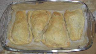 Filetti di salmone in crosta
