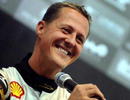 Michael Schumacher in Mercedes