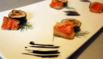 Sushi di triglia al finocchietto selvatico