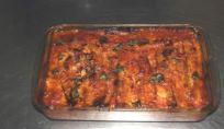Parmigiana di zucchine e melanzane