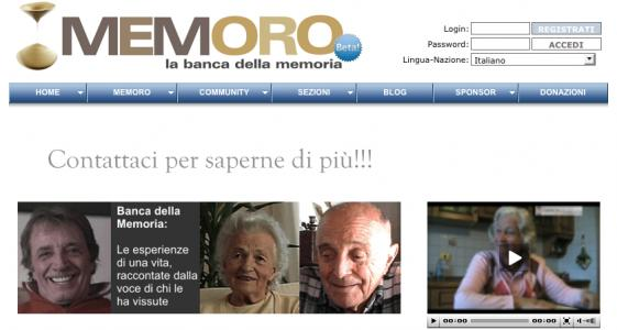 Memoro - La Banca della Memoria