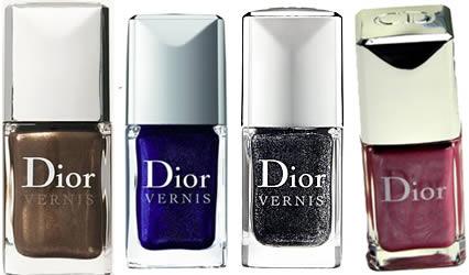 Nuovi smalti Dior per l'autunno inverno 2010 2011