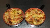 Paccheri con patate al forno