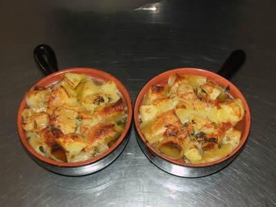 Paccheri al forno con patate