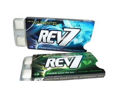 Rev7 gomma da masticare biodegradabile