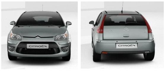 Nuova Citroën C4 design estreno