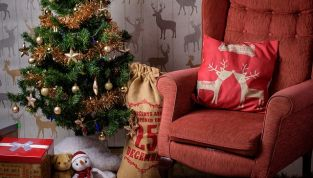 Decorazioni casa Natale 2010