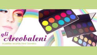 Gli Arcobaleni, le nuove palette di Neve Cosmetics