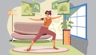 Fitness con la Wii
