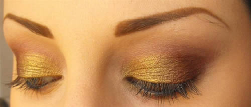 Make up sobrio per capodanno