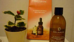 Gel doccia all'arancia Delarom