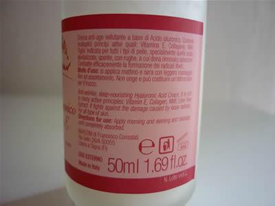 La decolorazione di pacco di faccia da aspirina