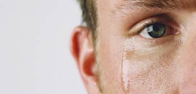 Rapporto degli uomini con il pianto