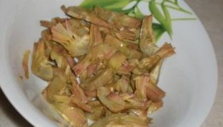 Carciofi in insalata light