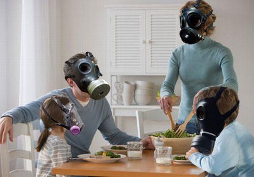 Tenere pulita l'aria di casa