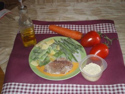 Pappa fonduta verdure merluzzo