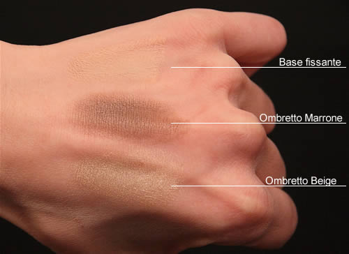 Swatch Respectissime Ombre Douce La Roche Posay smoky brun
