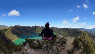 Trekking yoga, meditazione a contatto con la natura