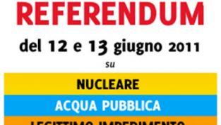 Referendum 12 e 13 giugno 2011: ecco cosa bisogna sapere