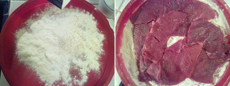 Scaloppine aceto balsamico