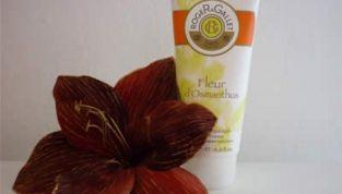 Latte corpo Fleur d'Osmanthus: idratazione e buon umore