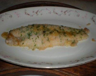 Filetti di pangasi gratinati al forno
