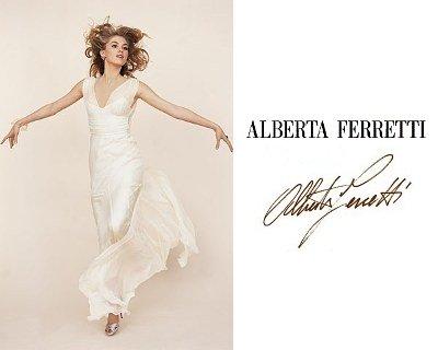 quality design 89777 76884 Collezione Sposa Alberta Ferretti 2012