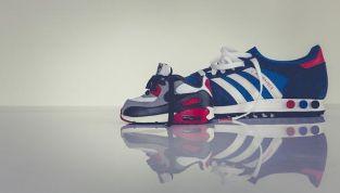 trainer adidas bianche e verdi