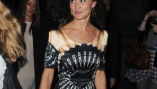 Pippa Middleton senza mutande alla London Fashion Week