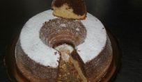 Torta bicolore prestofatto