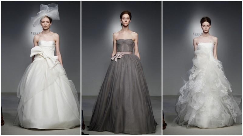 f821d67b57f6 Abiti da sposa Vera Wang 2012