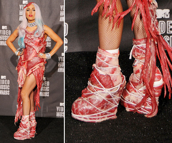 Lady Gaga costume Halloween, versione VMA 2011 Vma